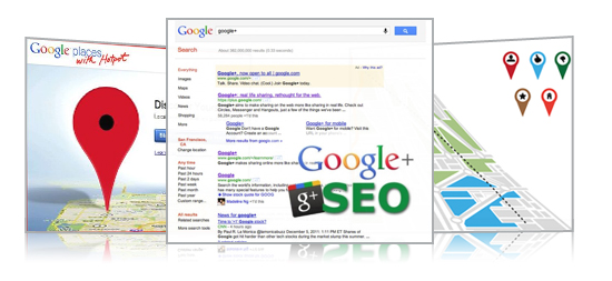 Auto Dealer Google Places, Google + SEO