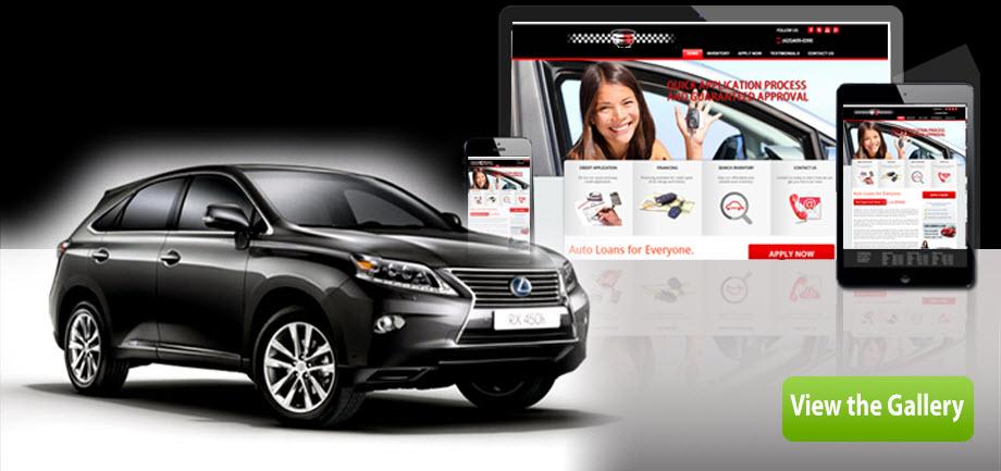 Car Salesman Website Design
