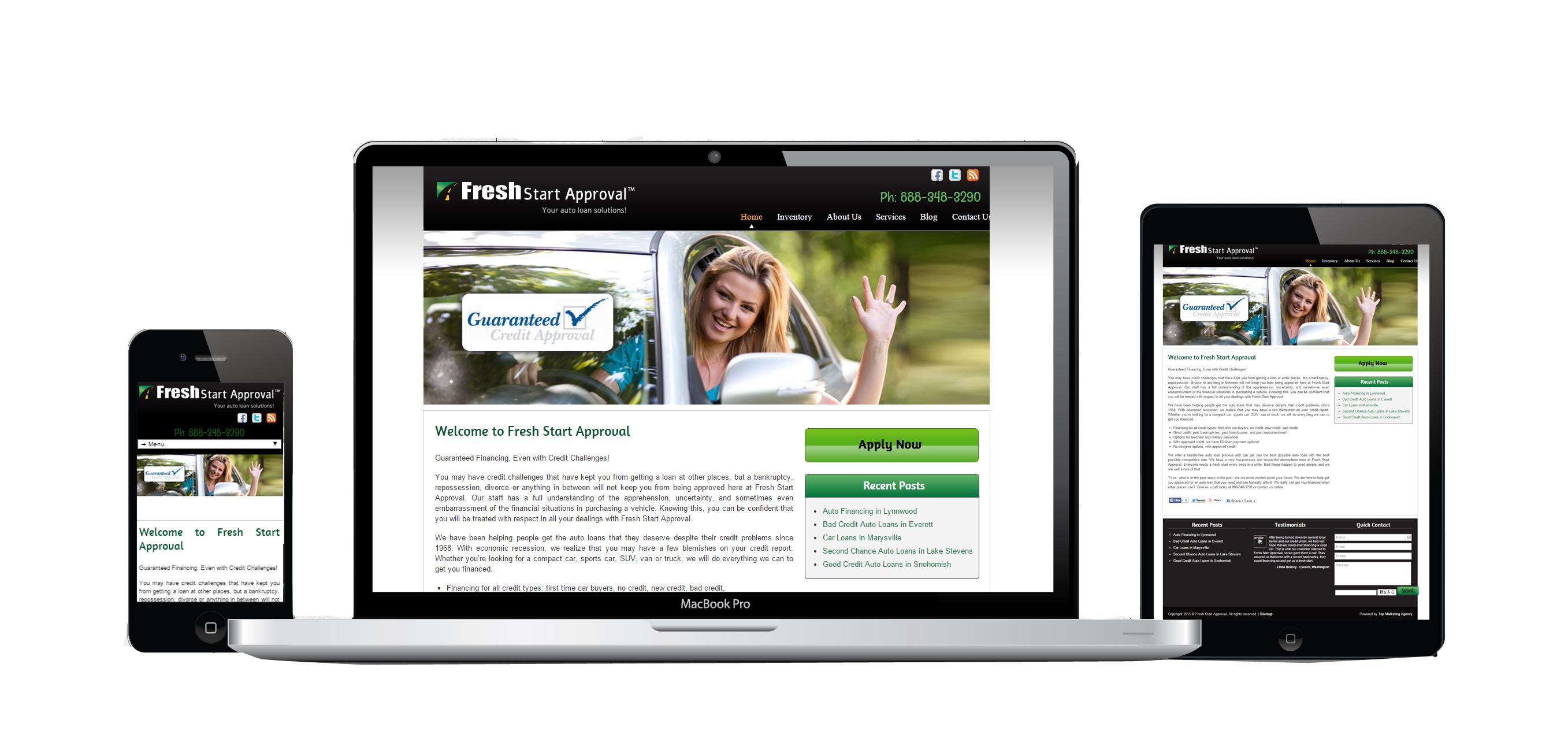Fresh Start Loan Approval