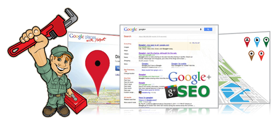 Plumbing Company Google Places, Google Plus SEO