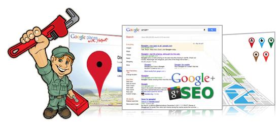Plumbing Company Google Places, Google Plus SEO