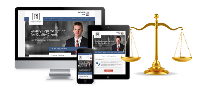 law firm-attorney website design
