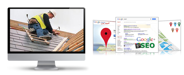 roofing google plus, google places, google maps SEO, local maps SEO for roofers