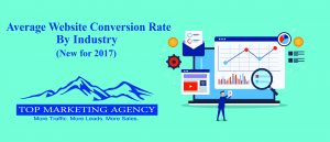 2017 Industry Average Website Conversion Rates